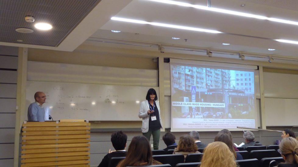 Tamás Egedy and Melinda Benkõ - presentation