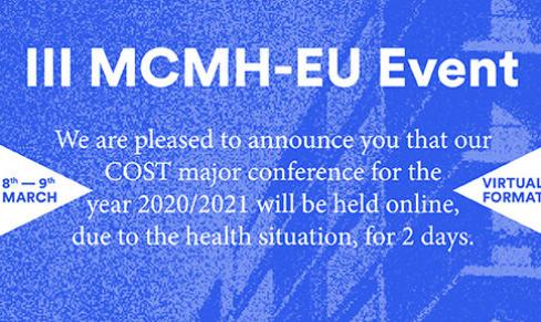 III MCMH-EU Event – VIRTUAL 8TH/9TH MARCH